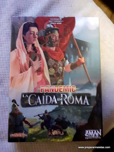 juego de mesa para viajar al imperio romano