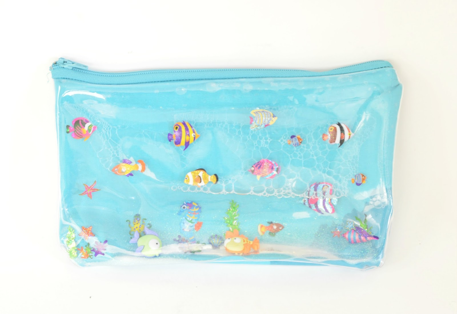 Vikalpah Diy Liquid Pencil Case Under The Sea Theme