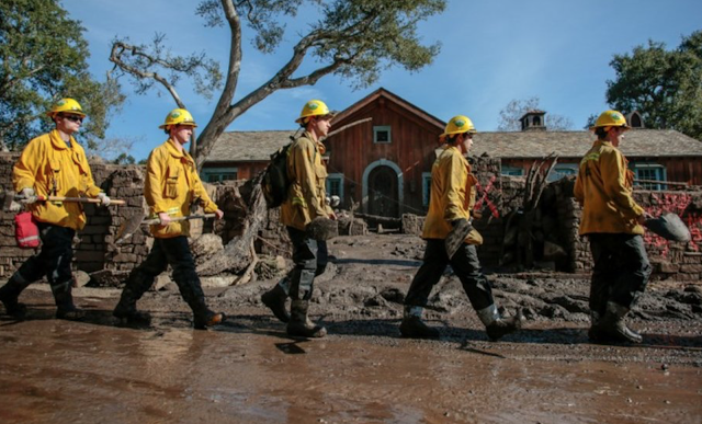 California mudslides death toll rises to 19