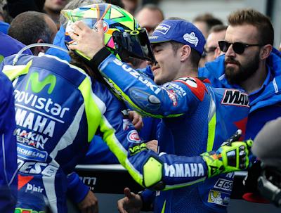 Rossi Tak Khawatir dengan Kehadiran Vinales di Yamaha