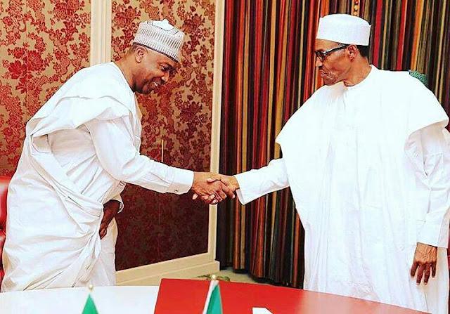 Senate President, Saraki Visits President Buhari At The State House [Photos]