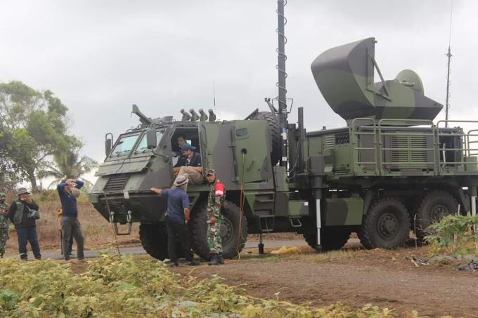 Mabes TNI AD Melakukan Uji Coba Roket Dengan Hitungan Mundur