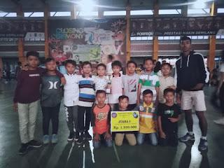 SD 2 Beleka Raih Juara Futsal Setelah Hempaskan SD 13 Ampenan di Final
