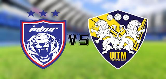 Live Streaming JDT vs UiTM FC 7.3.2020 Liga Super