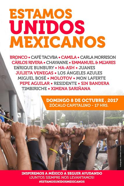 Estamos Unidos Mexicanos, todos en el Zócalo