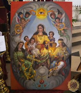 Gloria para el palio de Caridad de Granada
