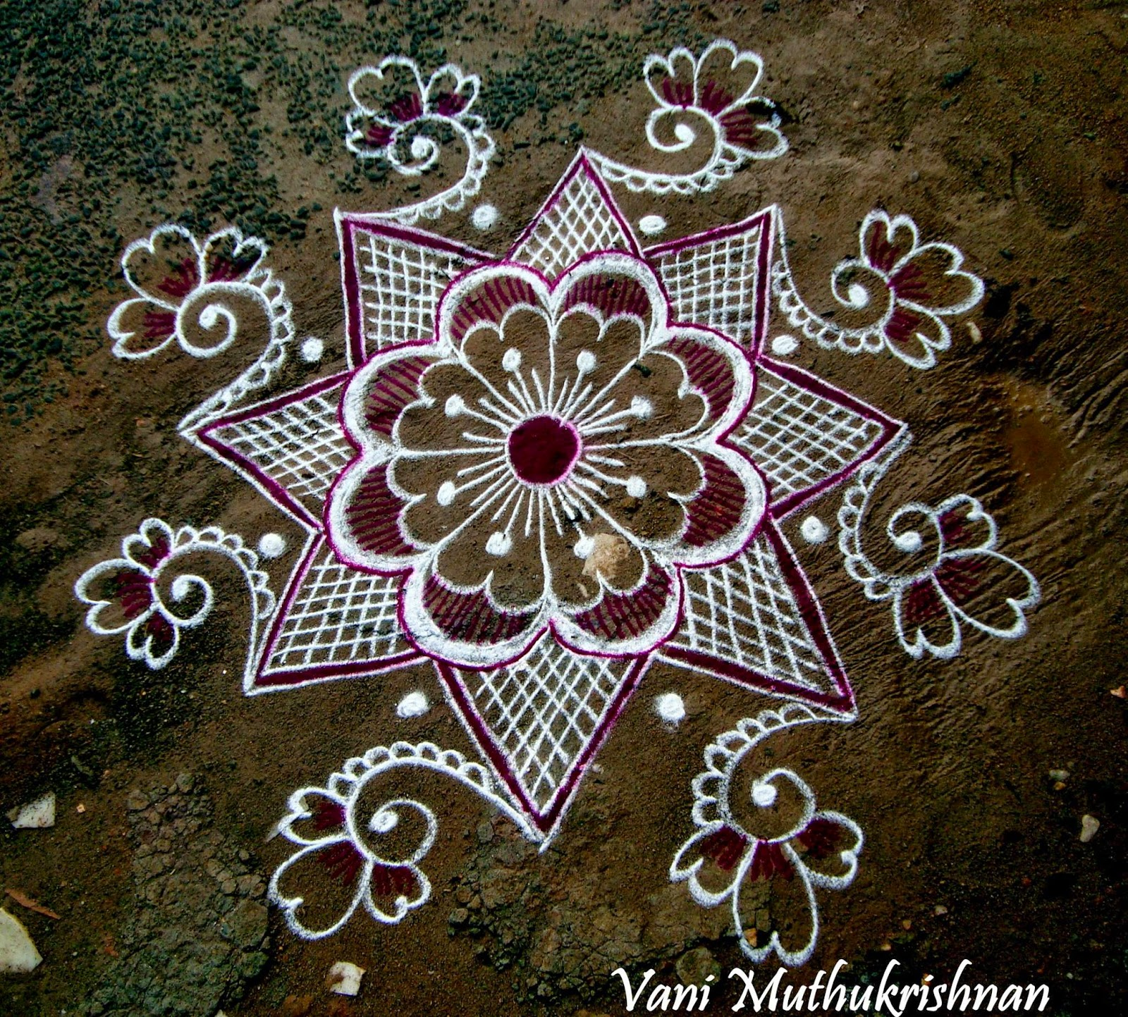 45 kolam designs for festivals for Pictures of designs