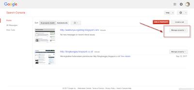 Cara Pasang Meta Tag Google Untuk  Verifikasi Kepemilikan Blog