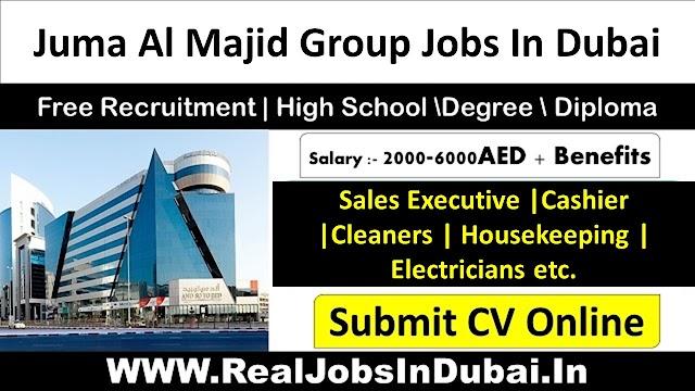 Juma Al Majid Group Jobs Vacancies In UAE 2021