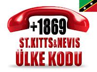 +1 869 Saint Kitts ve Nevis ülke telefon kodu