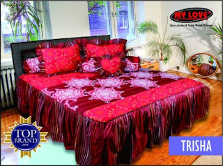 sprei rumbai my love trisha