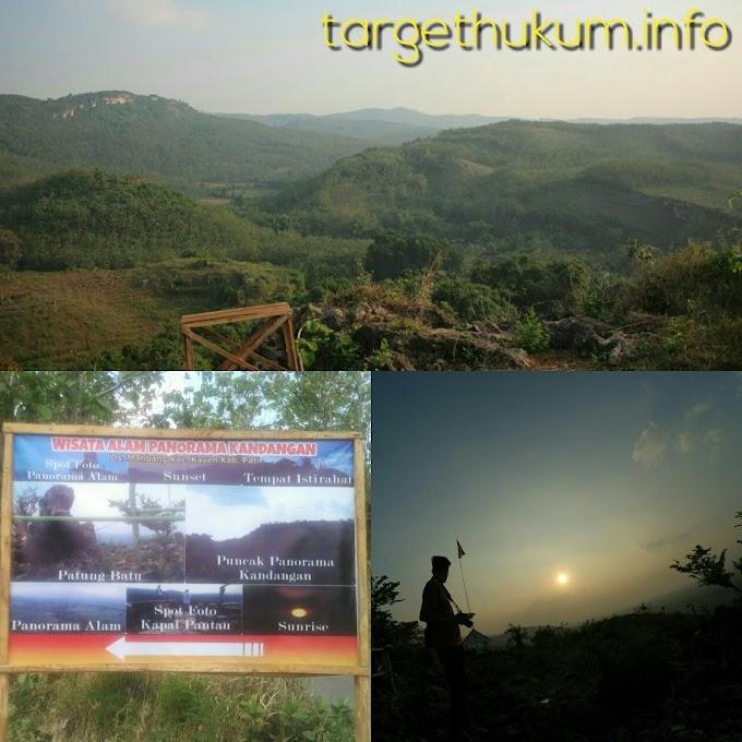 Wisata Baru Bukit Kandangan di Sumbersari Kayen Pati