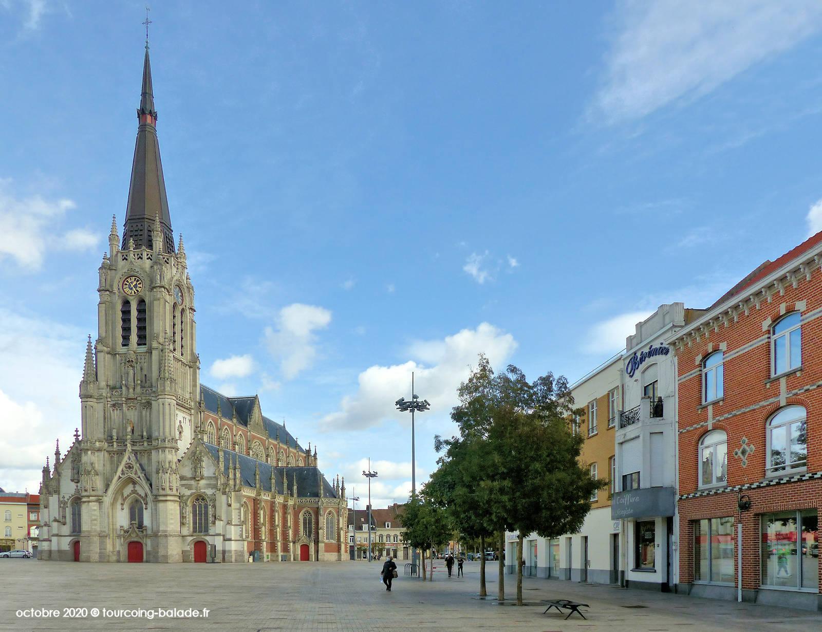 Parvis Saint Christophe, Tourcoing 2020