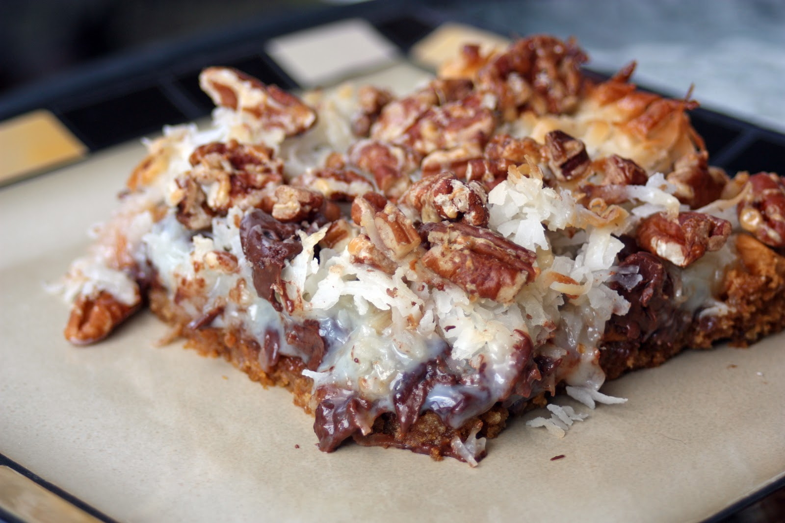 Just A Spoonful Of Magic Cookie Bars