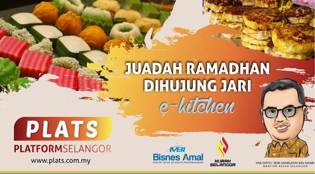 Juadah Ramadhan di hujung Jari E-Kitchen PLATS