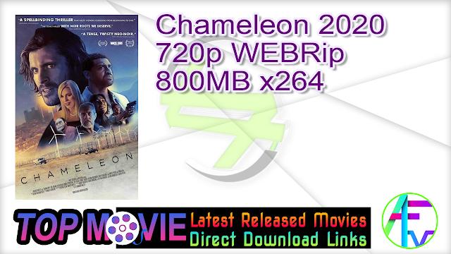 Chameleon 2020 720p WEBRip 800MB x264