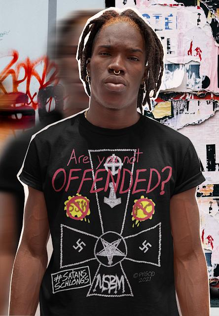 OFFENDED NSBM T-Shirt. SatansSchlongs.com