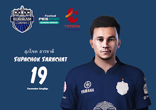 PES 2021 Faces Supachok Sarachat by Facemaker CongNgo