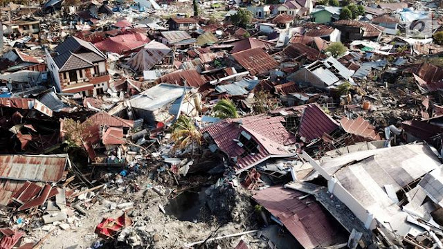 Foto Dampak Likuifaksi Gempa Palu