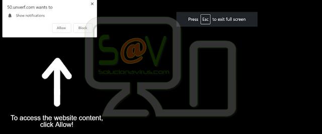 redirecciones a Unverf.com