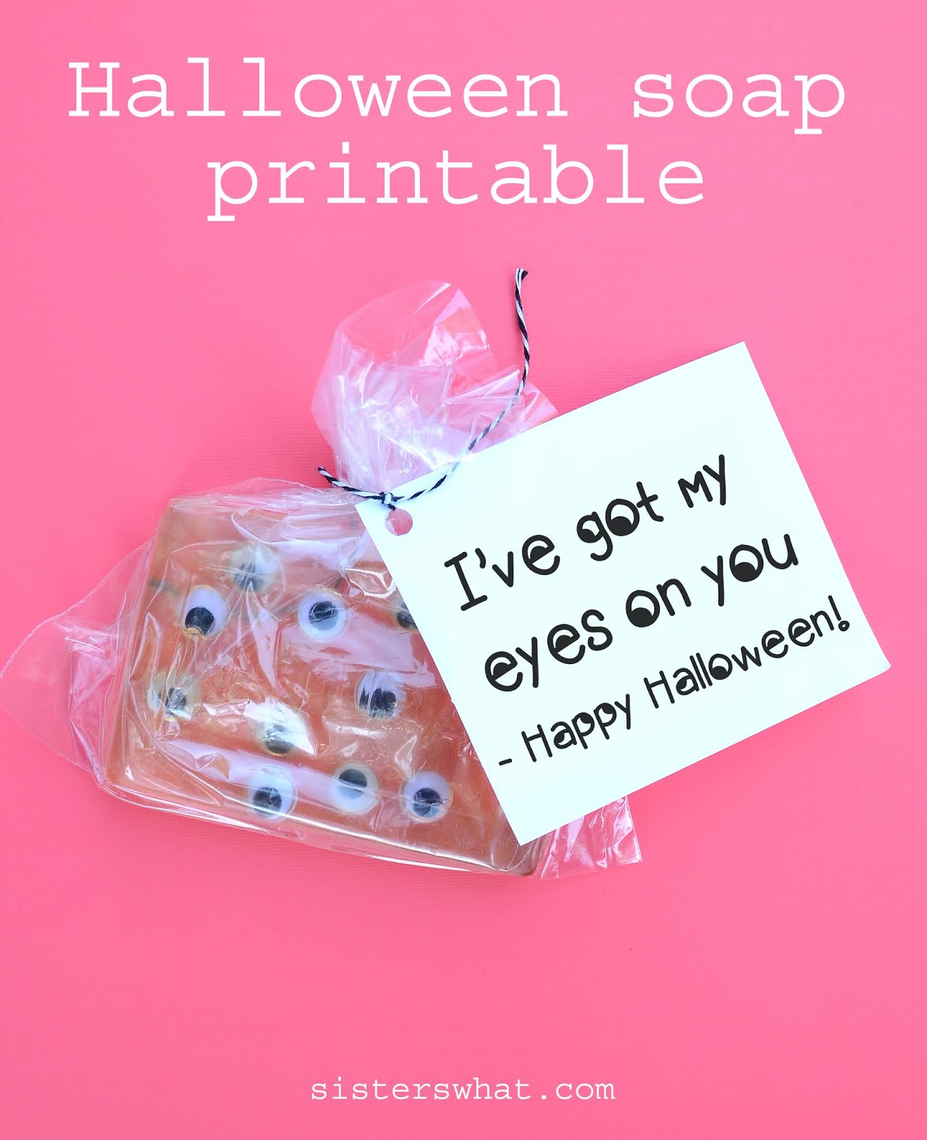 halloween soap eyes printable