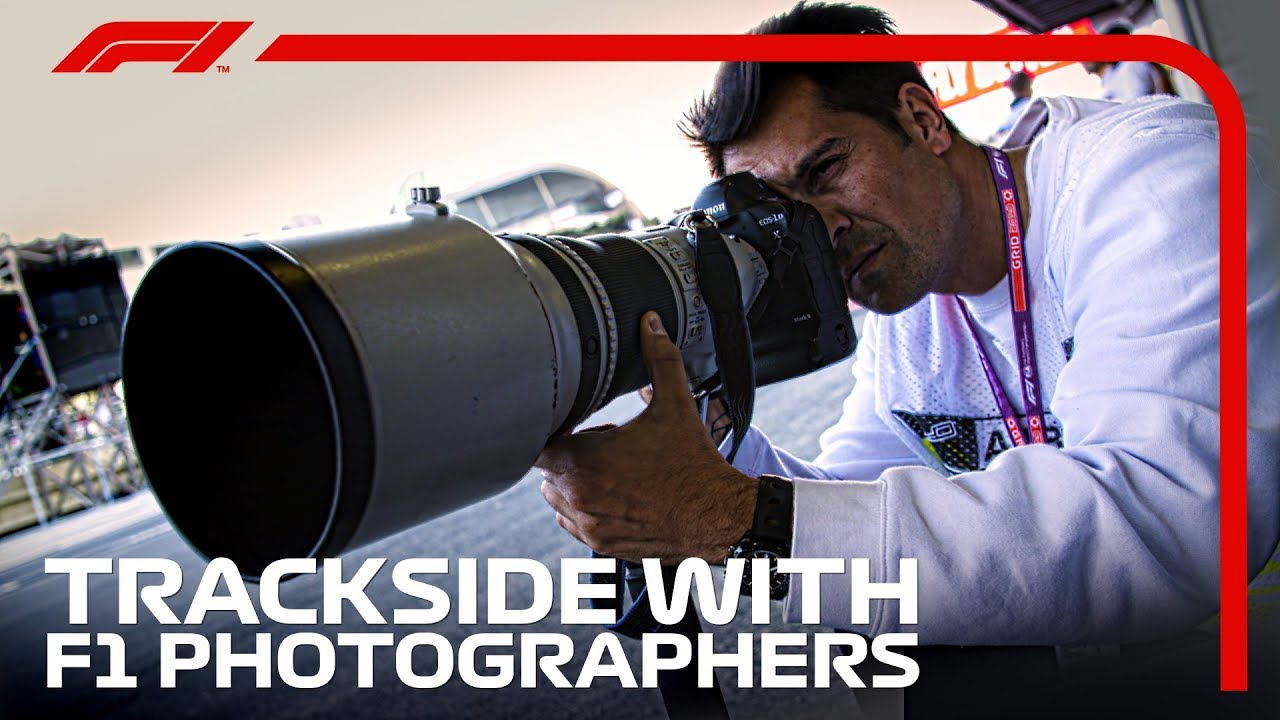 Trackside With F1 Photographers