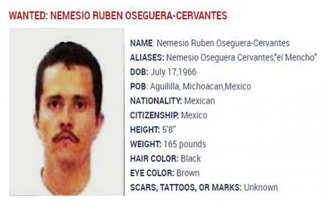 Desde las entrañas Agente de la DEA afirma que van por El Mencho y es objetivo prioritario