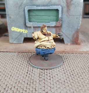 Fatty model for Judge Dredd