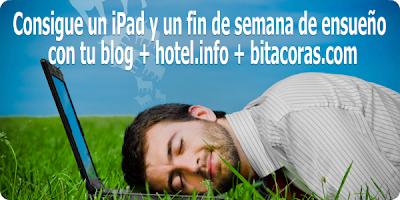 Foto del concurso en Bitacoras.com