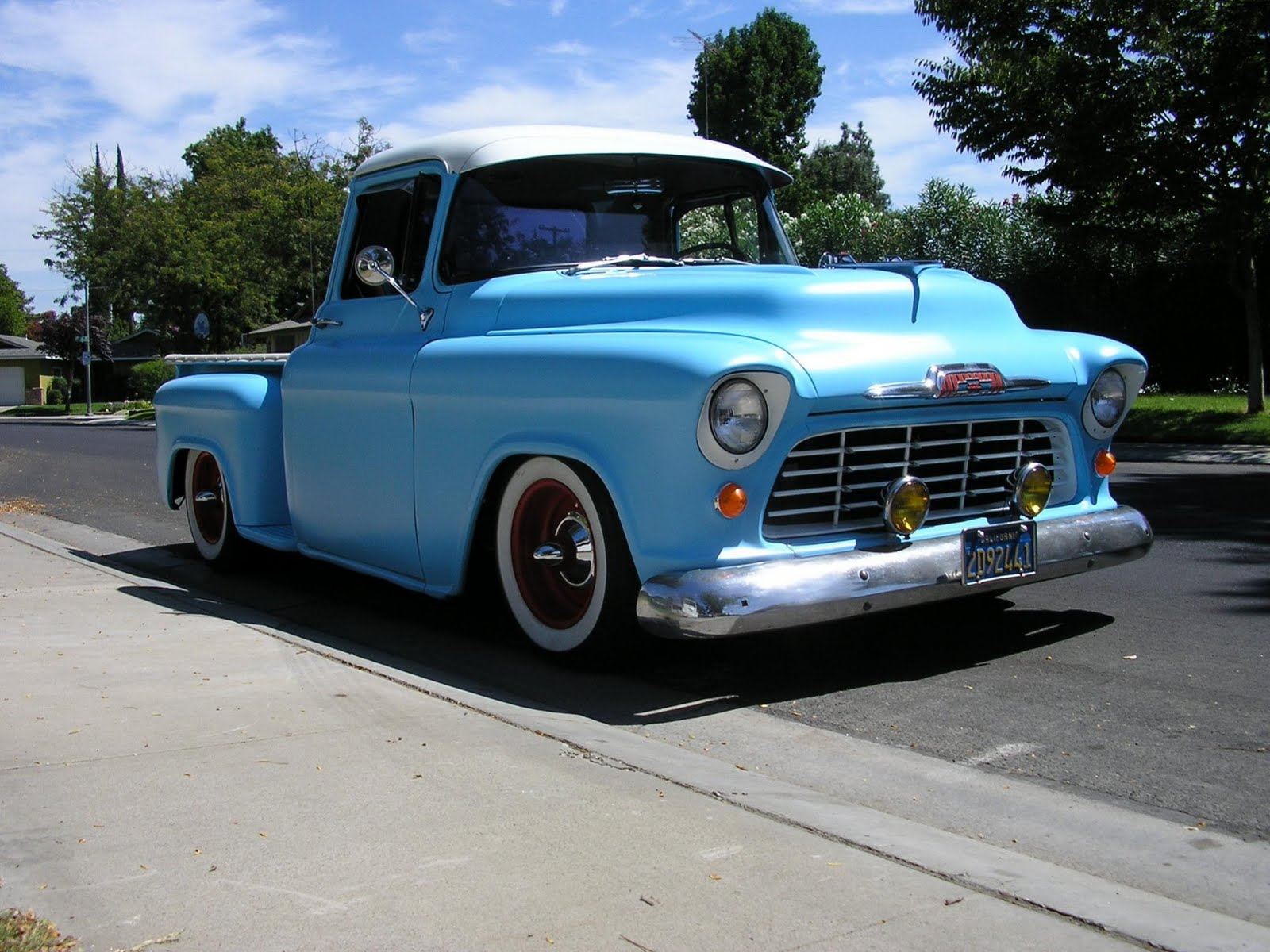 1955 chevrolet cameo pickup hotrod pictures hot rod cars. Black Bedroom Furniture Sets. Home Design Ideas