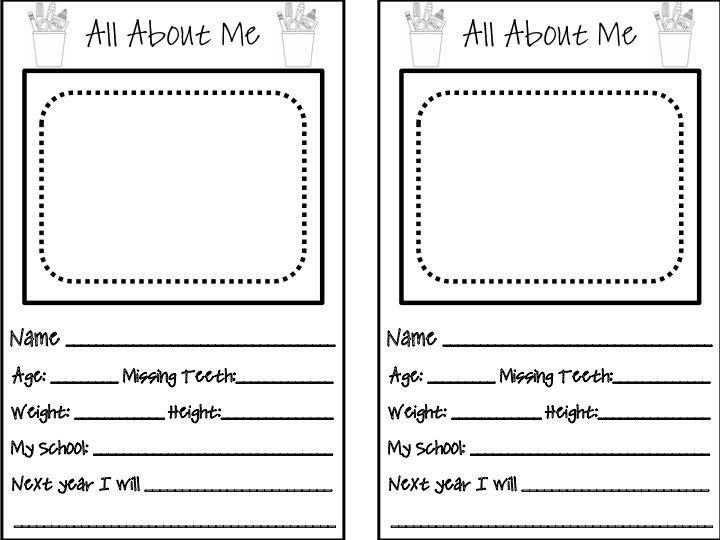 First Grade Fanatics Memory Book Give Away