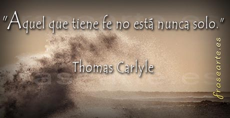 Frases de fe, Thomas Carlyle
