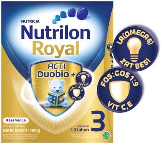 Nutrilon Royal 3: Merk Susu Formula Terbaik untuk Bayi 1 Tahun Keatas