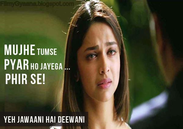 Deepika Padukone in Yeh Jawaani Hai Deewani Movie