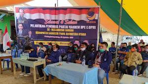Jelang Pilkada, NasDem Samosir Lantik Pengurus DPC dan DPRt