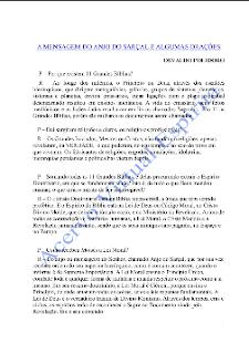 A Mensagem do Anjo do Sarçal e Algumas Orações (Osvaldo Polidoro) pdf