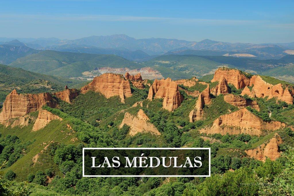 Las Médulas, la mayor mina de oro romana a cielo abierto
