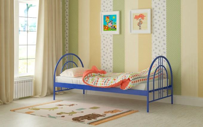 Кровать металлическая Алиса Люкс 80х190/200 ТМ Мадера