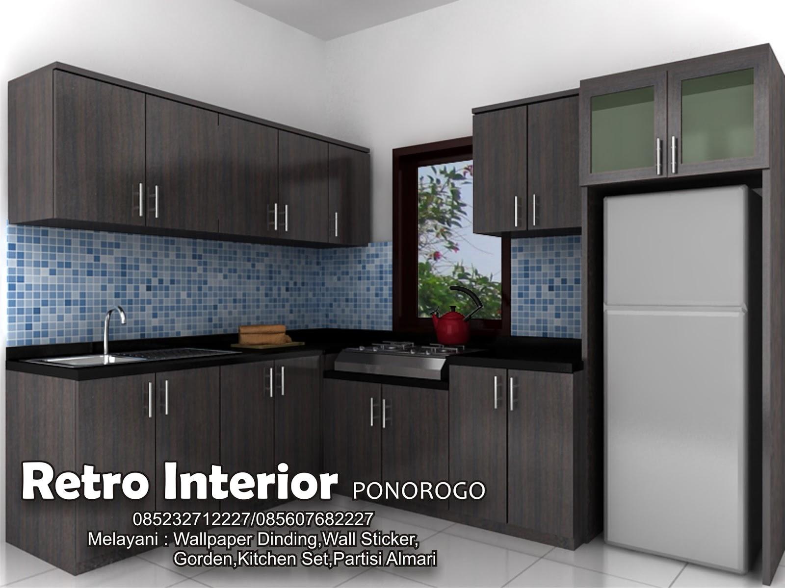 Retro Wallpaper Dinding Ponorogo Jl Thamrin 28 085607682227 085232712227 Pin Bb 5ecd728d Kitchen Set