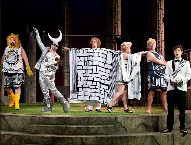 Britten: A Midsummer Night's Dream - Sion Goronwy, Johnny Herford, Gwilym Bowen, Ben Johnson,  Henry Waddington, William Thomas - The Grange Festival (Simon Annand)