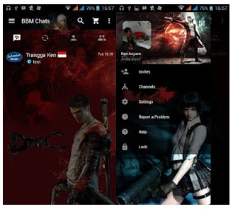 BBM Mod Devil May Cry V3.0.0.18 APK | Trangga Ken