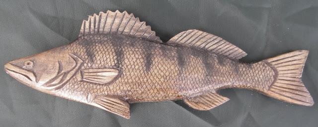 деревянные рыбы России - судак