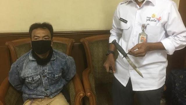 Satpam Ancam Anak Buah Anies: Bapak Boleh Hari Ini Selamat Tapi Besok Tidak