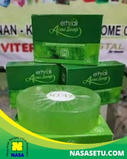 ERHSALI Anti Acne Soap Sabun Anti Jerawat