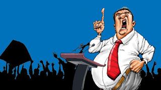 Hình minh họa một chiến dịch chính trị
