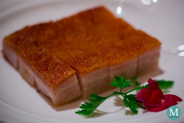 Crispy Pork Belly at Shang Palace at Kowloon Shangri-La, Hong Kong