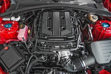 Chevrolet Camaro ZL1 1LE engine