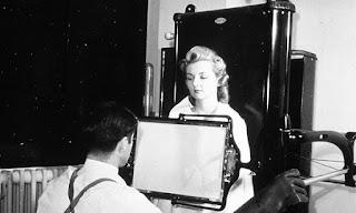 Antiguo aparato de rayos X