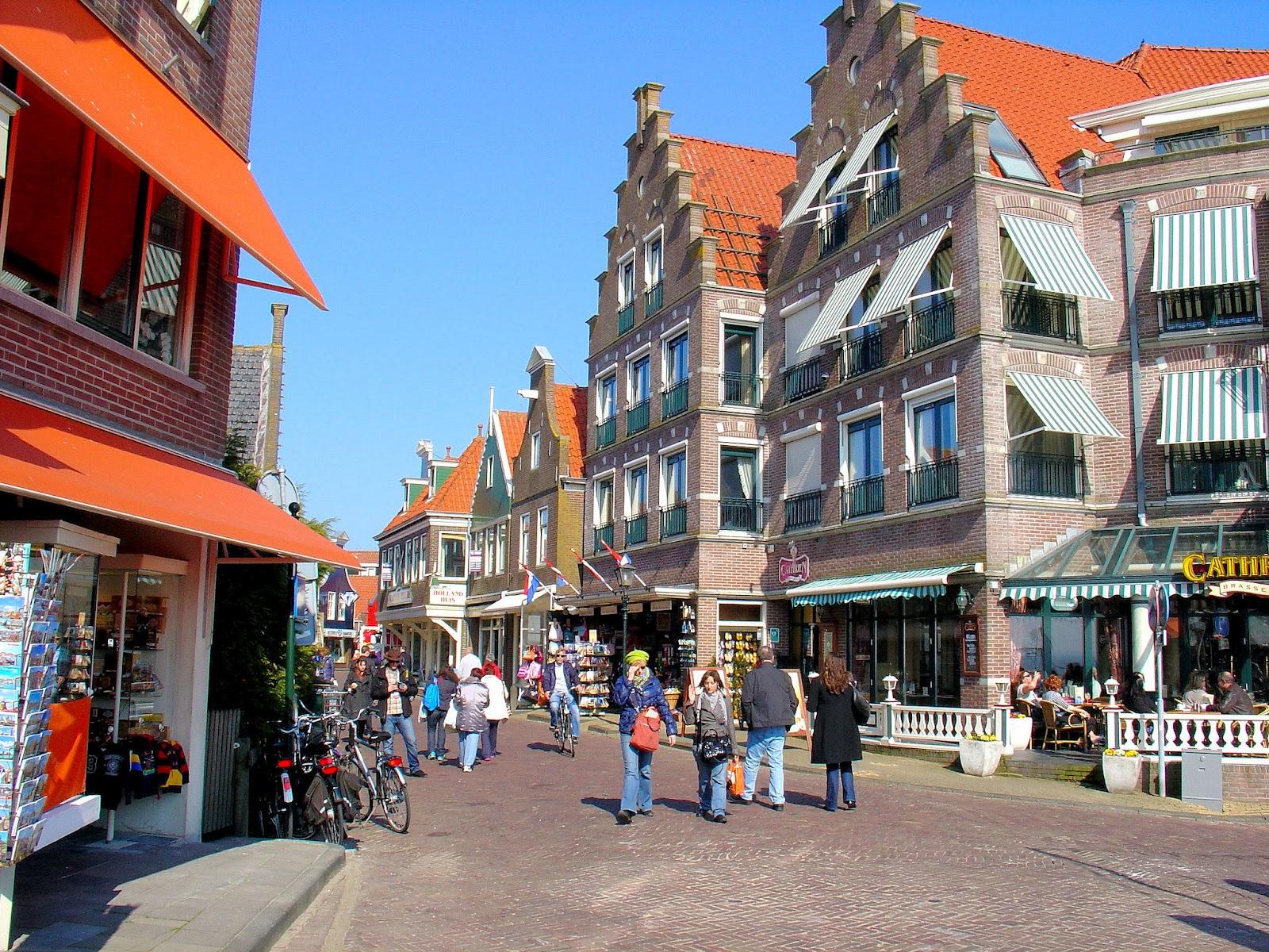 A Voyage To Volendam In The Netherlands