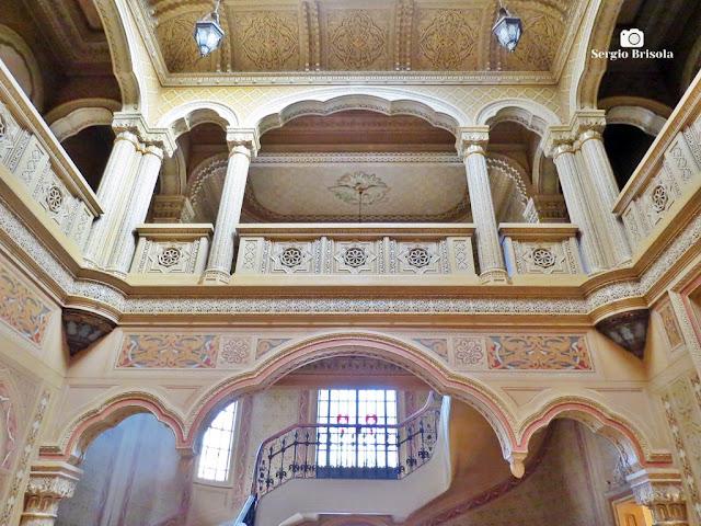Palacete Rosa - Átrio - Hall central